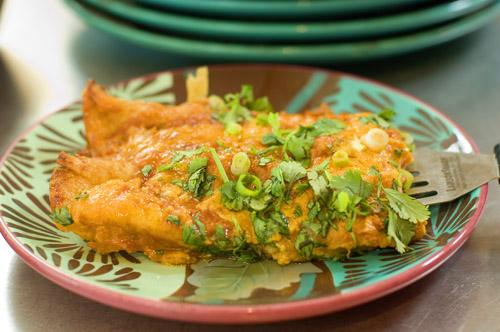 Pioneer Woman's Favorite Enchiladas