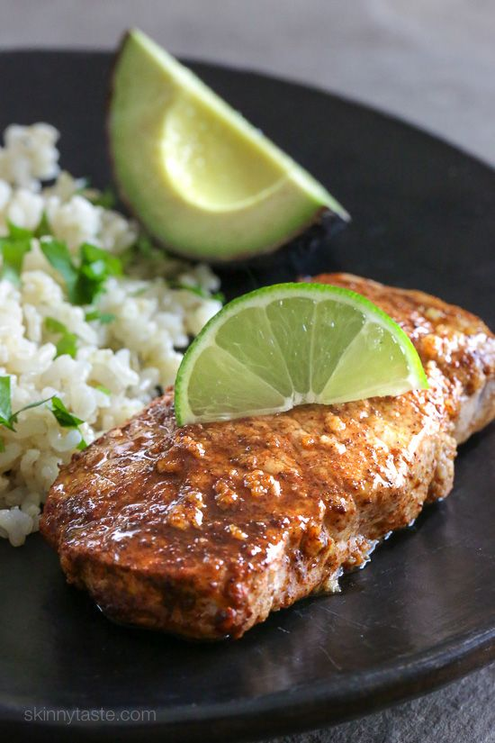 Quick Marinated Garlic Lime Porkchops