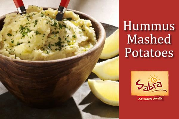 Hummus Mashed Potatoes