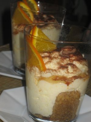 Yogurt and Orange Tiramisù