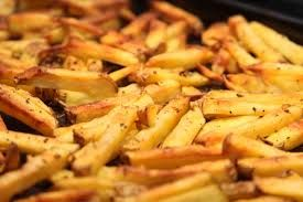 Anthony's homemade French Fries, modified from Amy Cardello