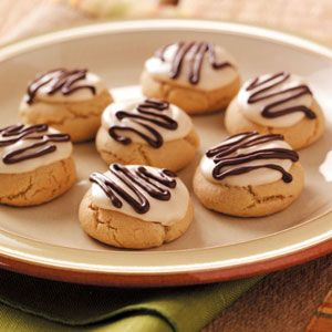 Fancy Peanut Butter Cookies