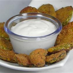 Easy and Spicy Fried Pickles