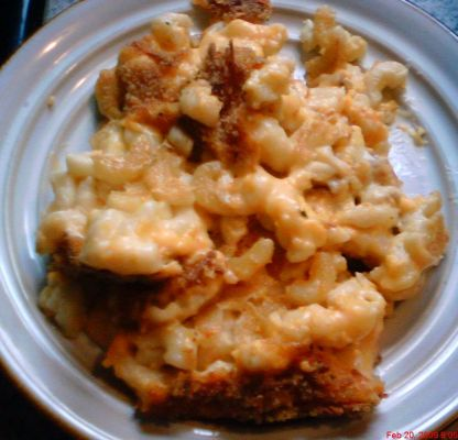 Baked Macaroni And Cheese Casserole