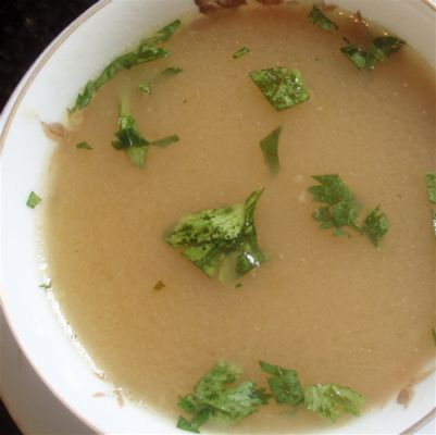 Lemon and Coriander Soup
