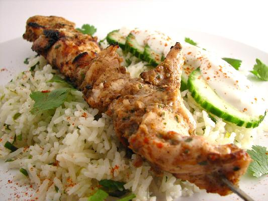 Jerked Chicken Kabobs