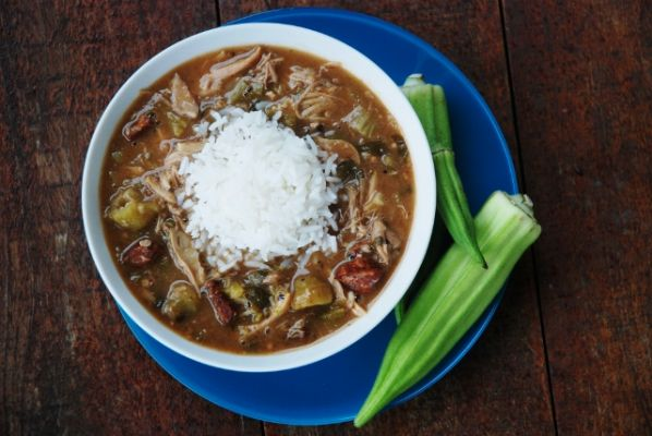 Turkey and Andouille Gumbo