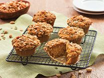 Five-Spice Peanut and Pumpkin Muffins