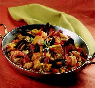 Red Lobster's South Beach Seafood Paella