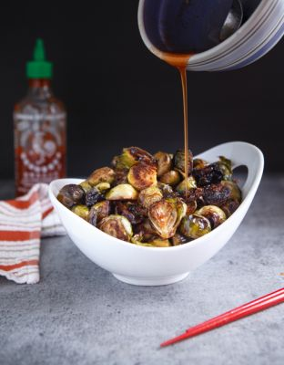 Sriracha Brussel Sprouts