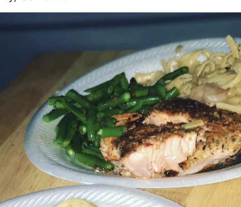 Blackened  Italian Salmon