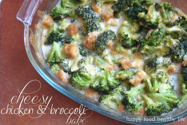 Cheesy Chicken & Broccoli Bake