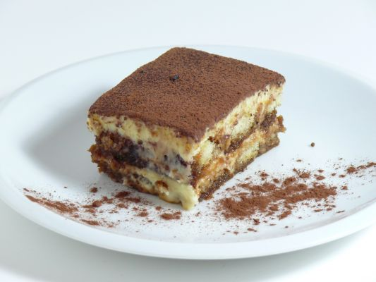Amber B's Creamy Tiramisu, modified from Allrecipes.com