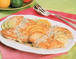 TRIPLE CITRUS CHICKEN BREASTS