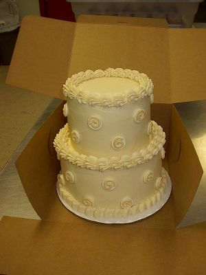 Tiny Little Wedding Cake