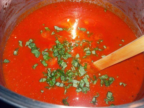 Slow-cooked Tomato Sauce Base