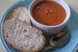 Hearty Tomato Soup with Lemon and Rosemary