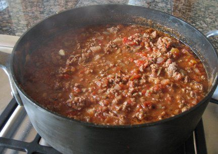 Basic Homemade Chili