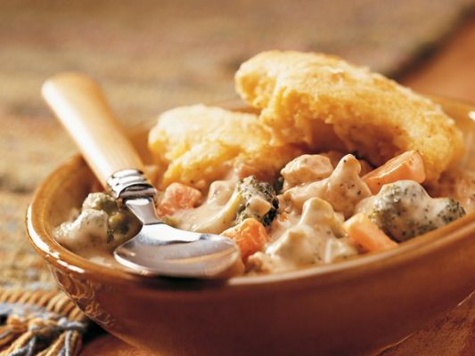 Betty Crocker Cornbread-Topped Chicken Pot Pie
