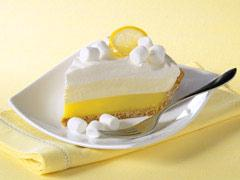 Triple-Layer Lemon Meringue Pie
