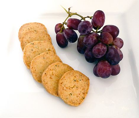 Parmesan & Thyme Crackers Recipe - BakeSpace