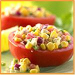 Corn-Stuffed Tomatoes