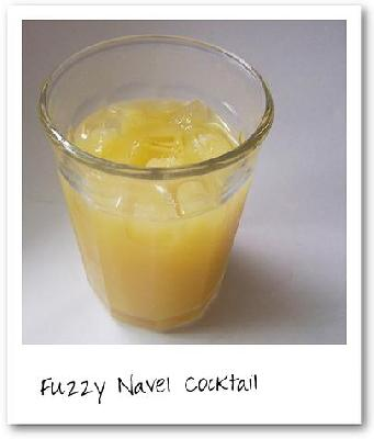Fuzzy Navel Cocktail