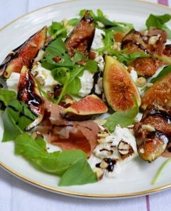 prosciutto and camembert salad