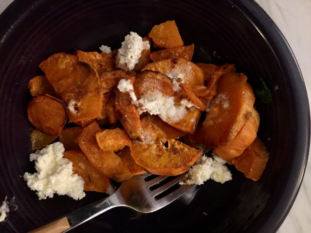 Baked Sweet Potato with Cinnamon