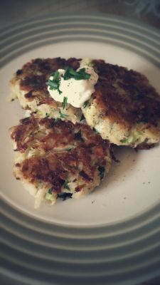 Zucchini & Potato Hashbrown Patties