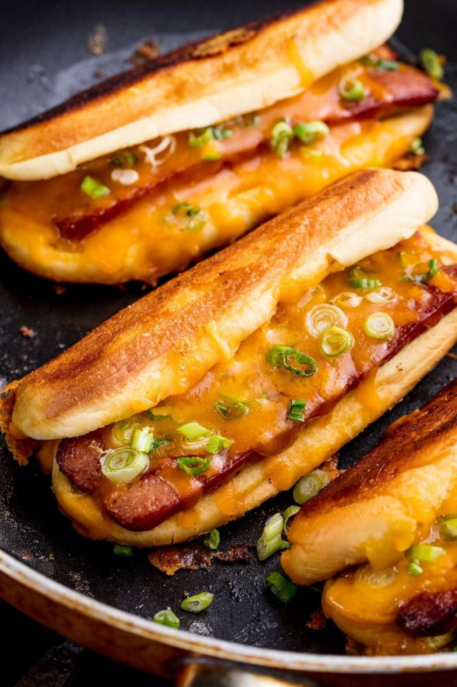 Grilled Cheese Dogs  Added by Patricia Duarte, Madisonville, KY