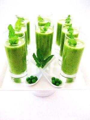 Amuse Bouche:  Cucumber Mint Puree