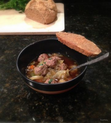 Irish Meatball Soup