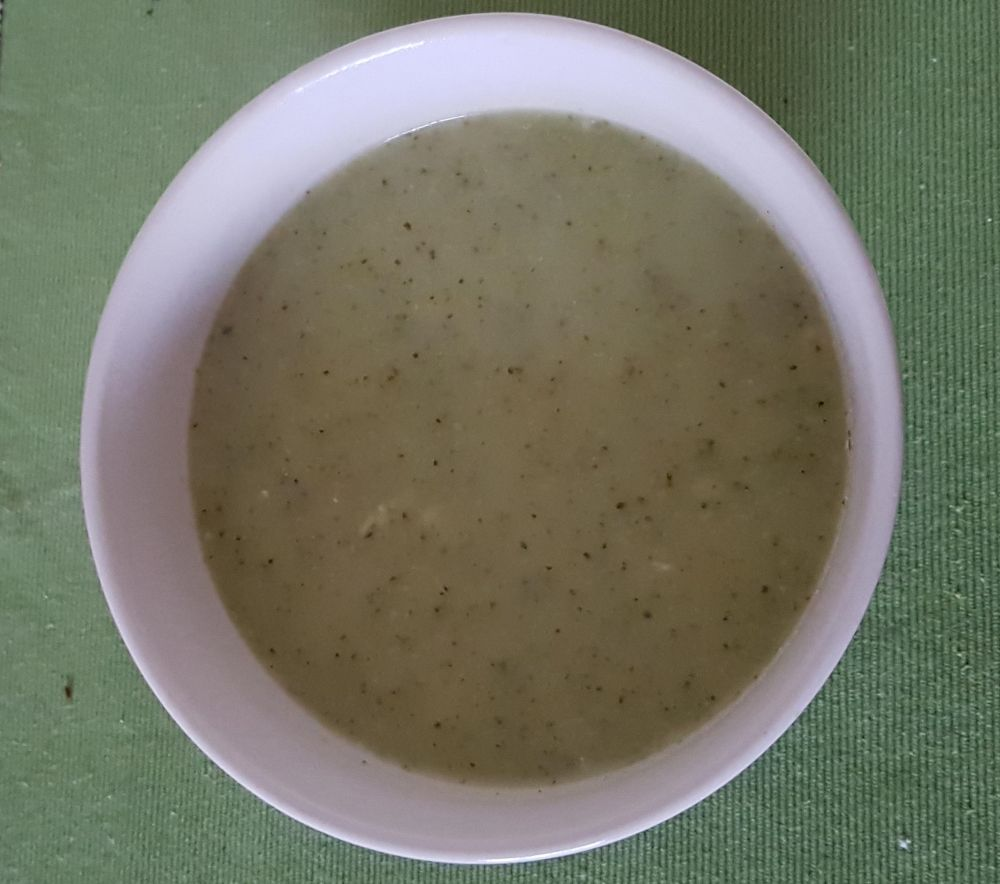 Gluten Free Broccoli and Blue Cheese Soup
