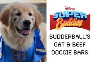 Budderball's Oat & Beef Doggie Bars