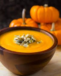 Gingered Sugar Pumpkin Soup