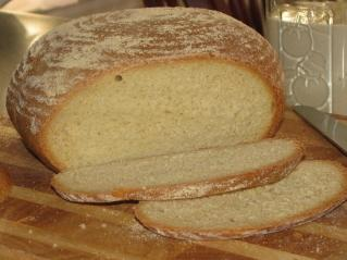 Semolina Sourdough Bread