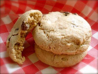Awesome Low-fat Gluten-Free Chocolate Chip Cookies