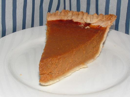 Pumpkin Pie With Perfect Pie Crust