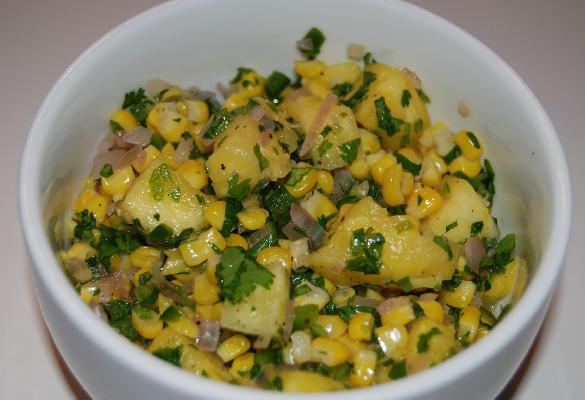 Pineapple-corn Relish