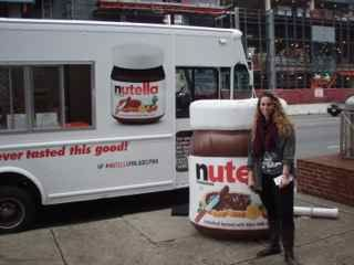 Me & the Nutella truck @ Temple University