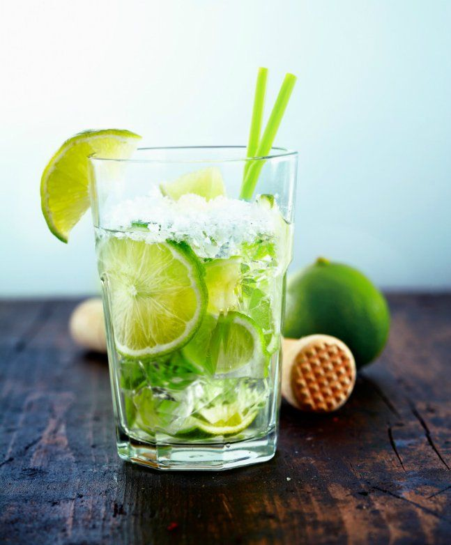 Put the Lime in the Coconut Water Refresher