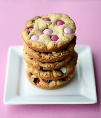Chocolate Chip M & M Cookies