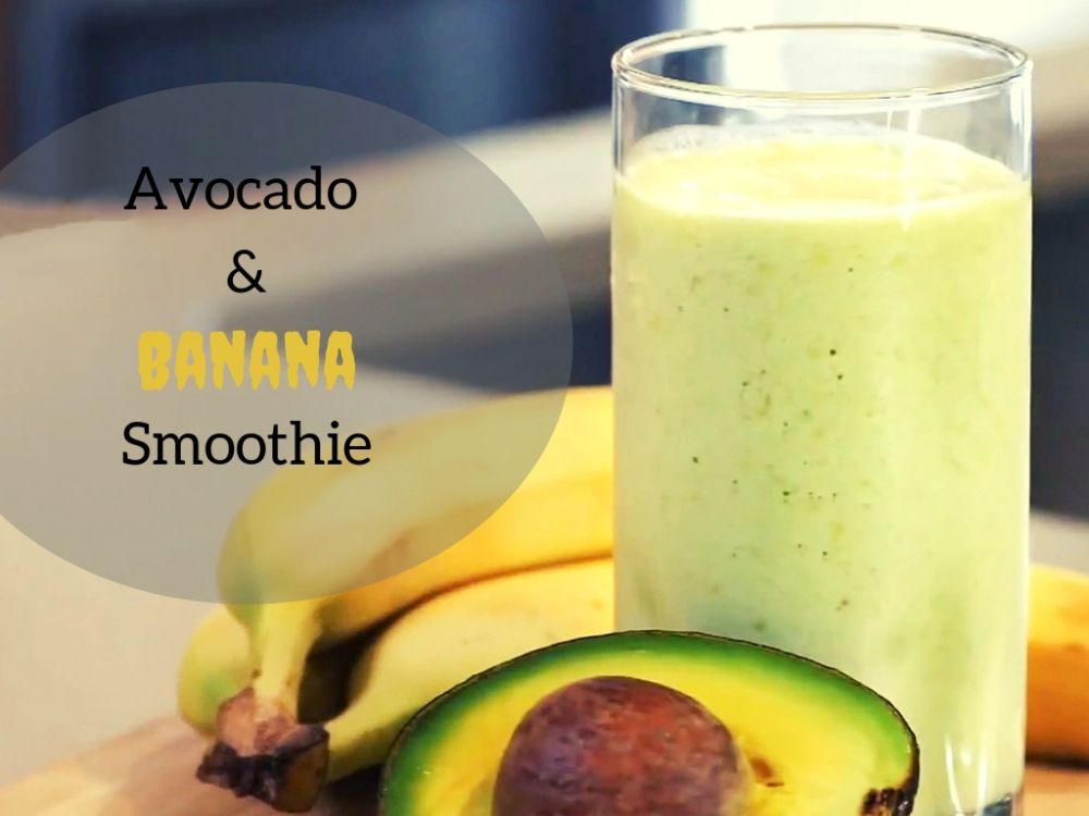 Favorite Smoothie for Eczema: Avocado And Banana