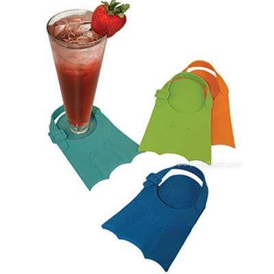 Flippers Swim Fin Coasters - http://www.perpetualkid.com/index.asp?PageAction=VIEWPROD&ProdID=1751&dc=bake