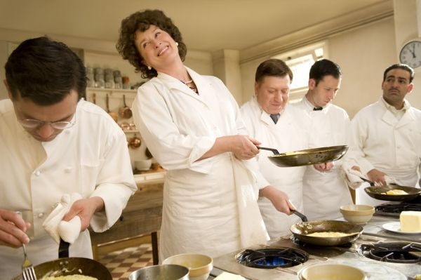 """You should have seen the way those men looked at me.""  - Julia Child"