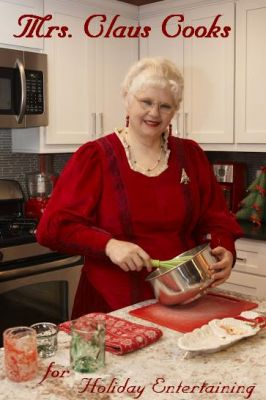 Mrs. Claus Cooks for Holiday Entertaining