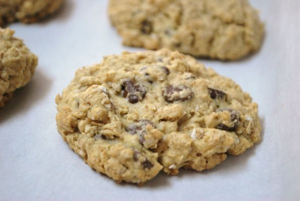 Oatmeal Chocolate Chip Cookies - Dairy Free!