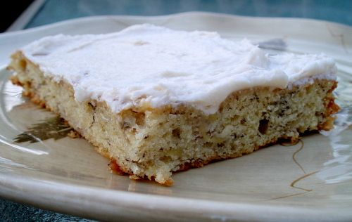 Cathy's Banana Bars with Cream Cheese Frosting