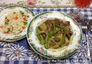 Simple and Easy Beef Stir-Fry with Coconut Milk